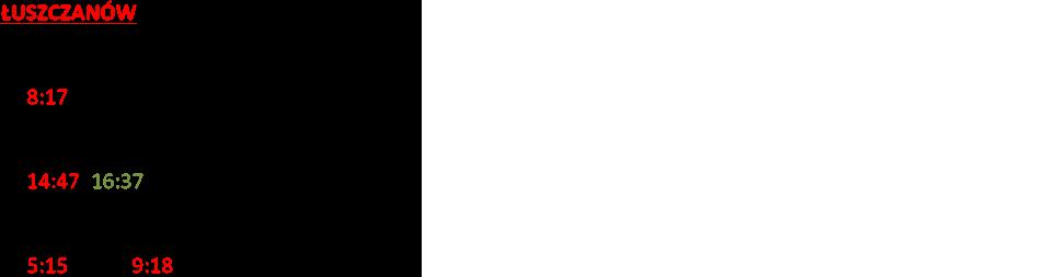 ŁUSZCZANÓW