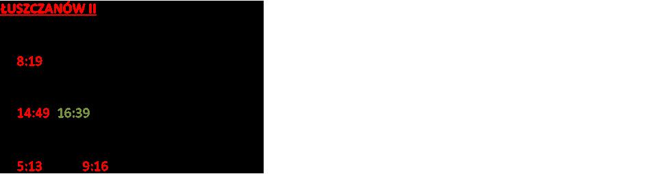 ŁUSZCZANÓW II